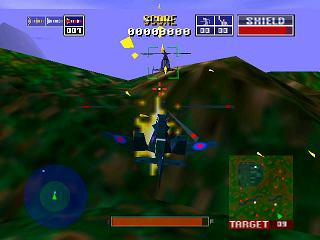 Chopper Attack Nintendo 64 Air Combat