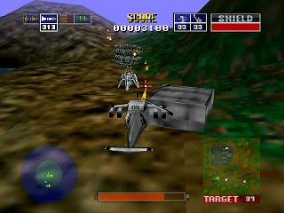 Chopper Attack Nintendo 64 Destroy enemy radar