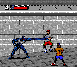 Spider-Man & Venom: Maximum Carnage SNES Venom's moves are identical to Spidey's, but with different art.