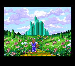 The Wizard of Oz SNES End of first level