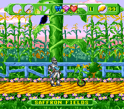The Wizard of Oz SNES Com here! I have axe and will kill you!