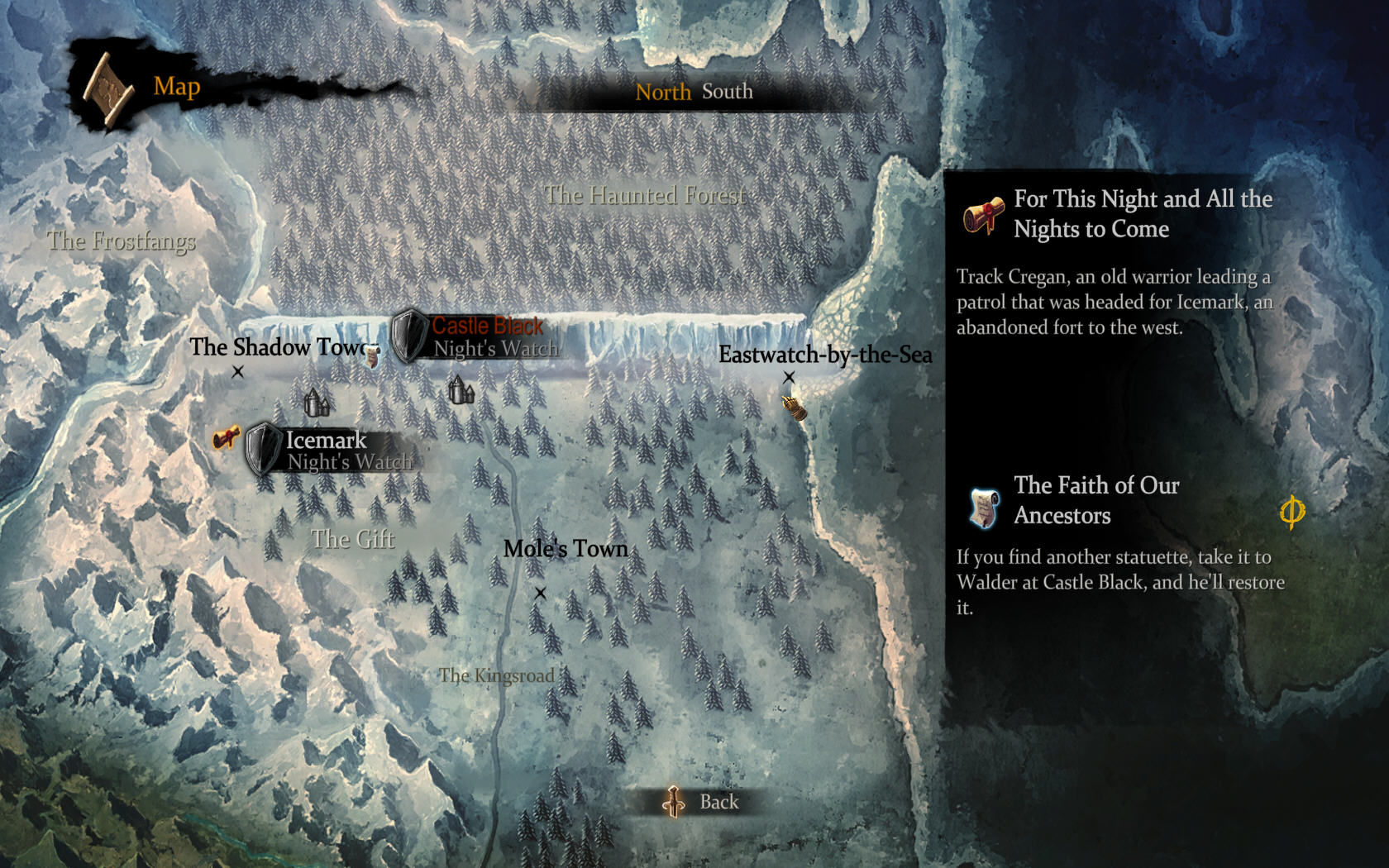 Game of thrones screenshots for windows mobygames traveling on the world map gumiabroncs Image collections