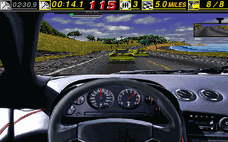 The Need for Speed DOS I see double (340x200)