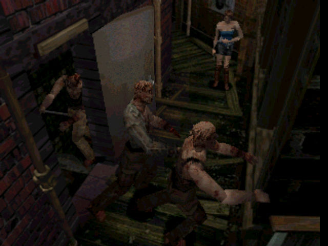 Resident Evil 3: Nemesis PlayStation A fistful of zombies