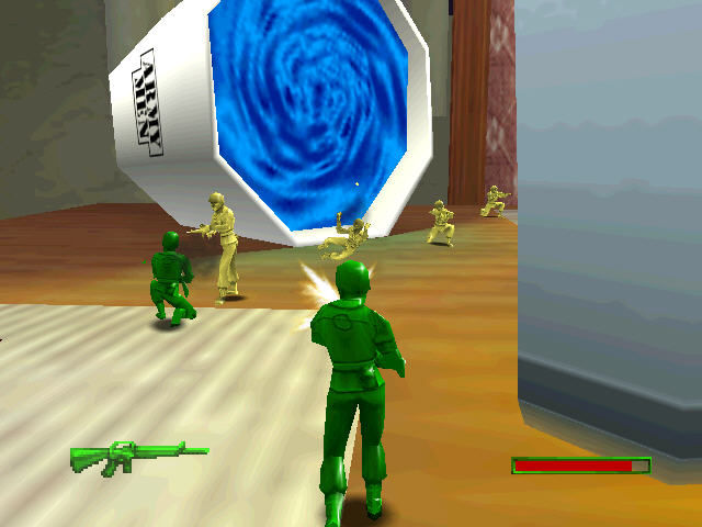 nintendo 64 army men