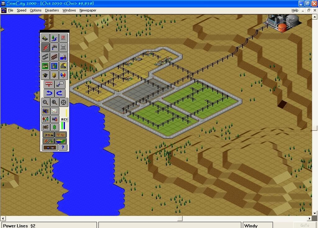 SimCity 2000: CD Collection Windows 3.x Roads and power