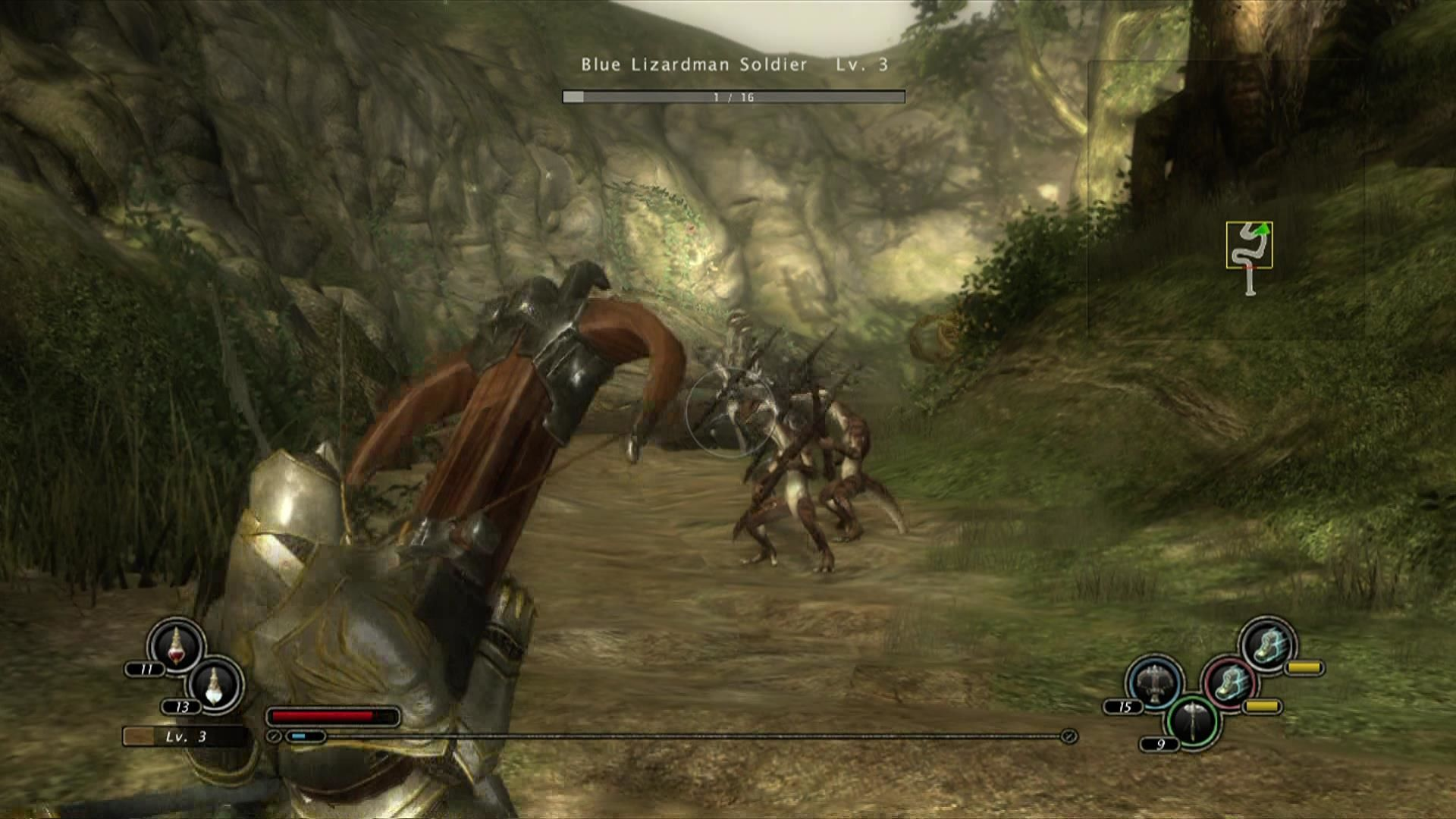 Kingdom Under Fire: Circle of Doom Xbox 360 Use ranged weapons to take down enemies.