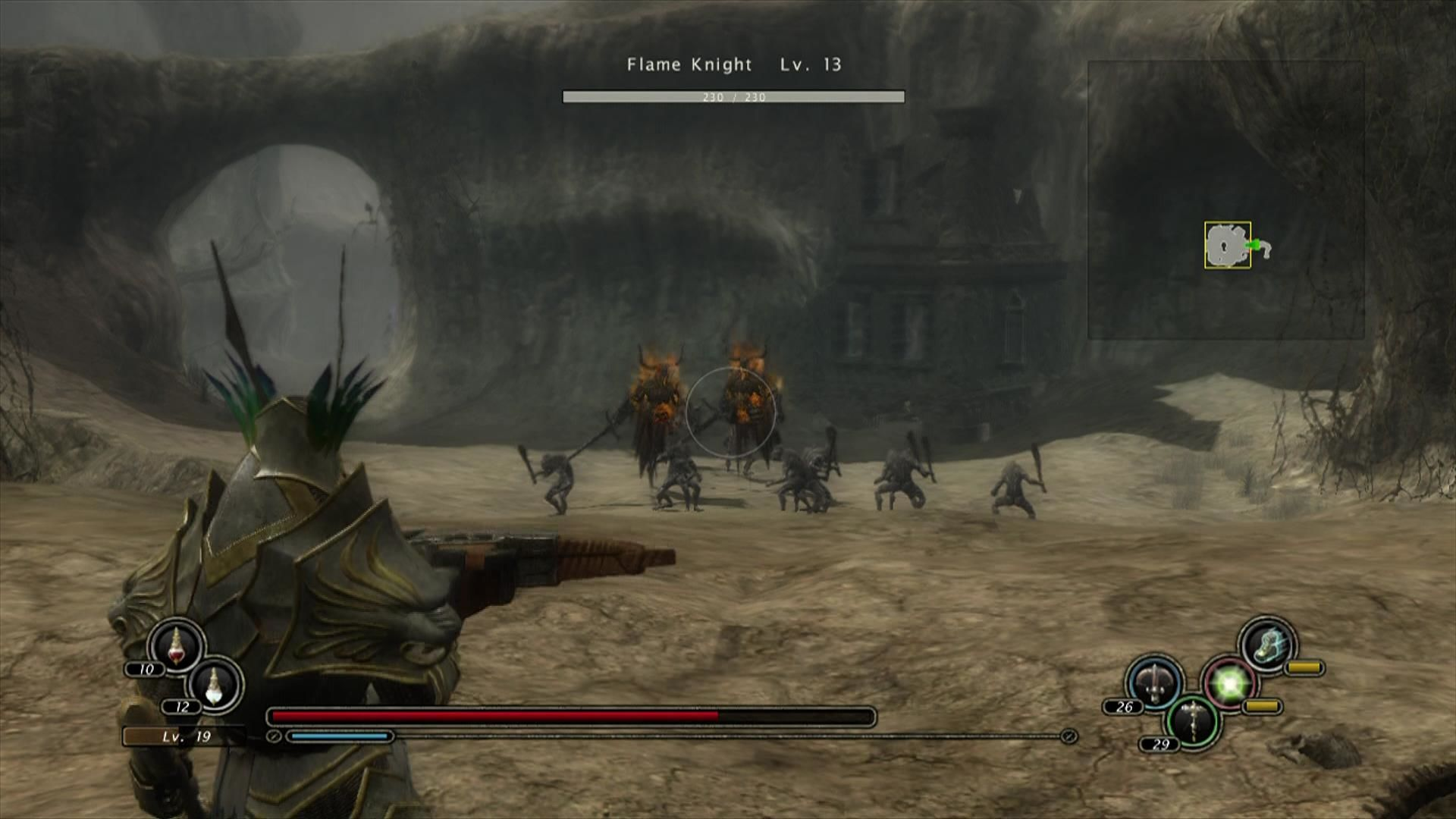 Kingdom Under Fire: Circle of Doom Xbox 360 Flame knights join the enemy ranks.