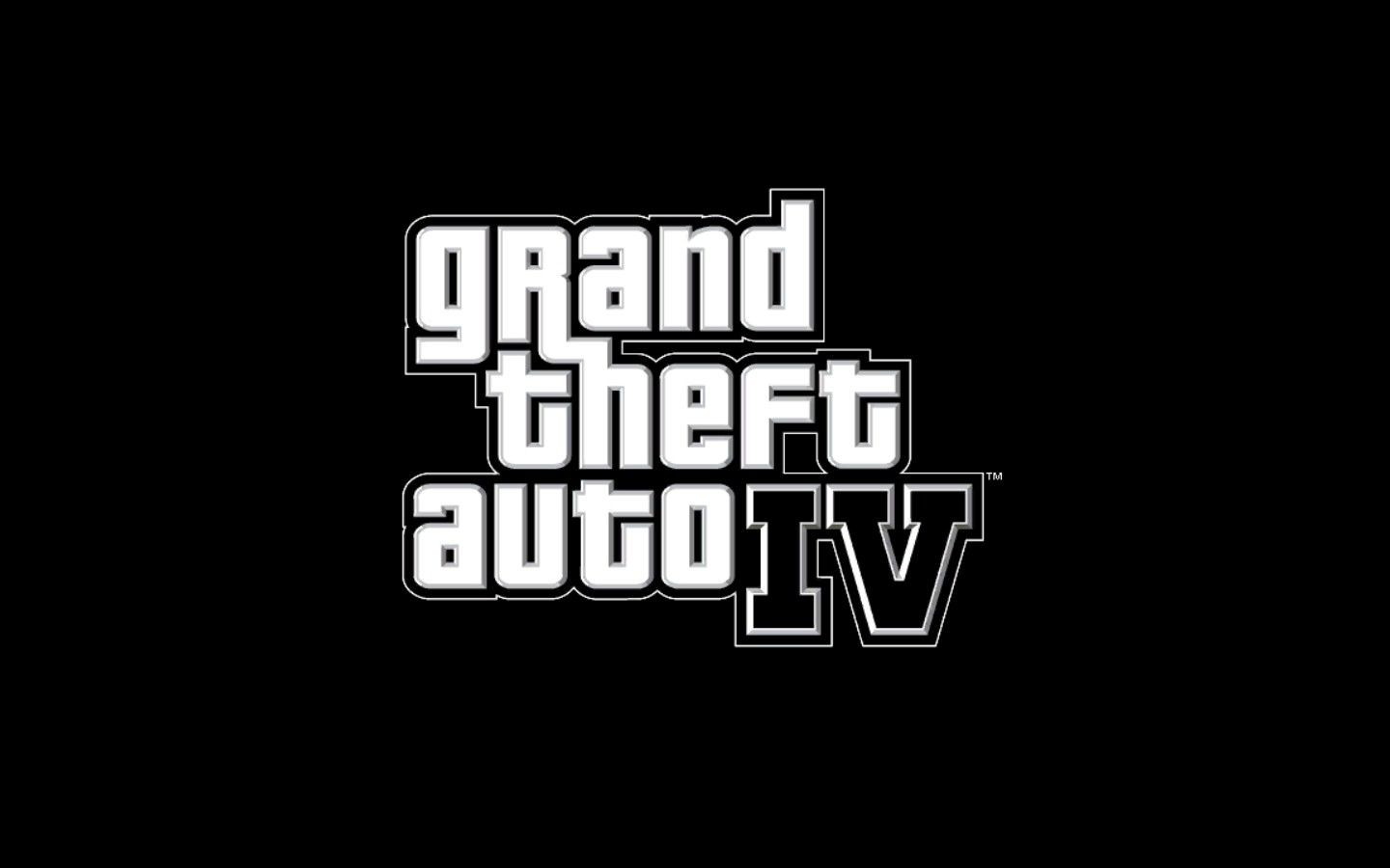 Grand Theft Auto IV Windows Title Screen