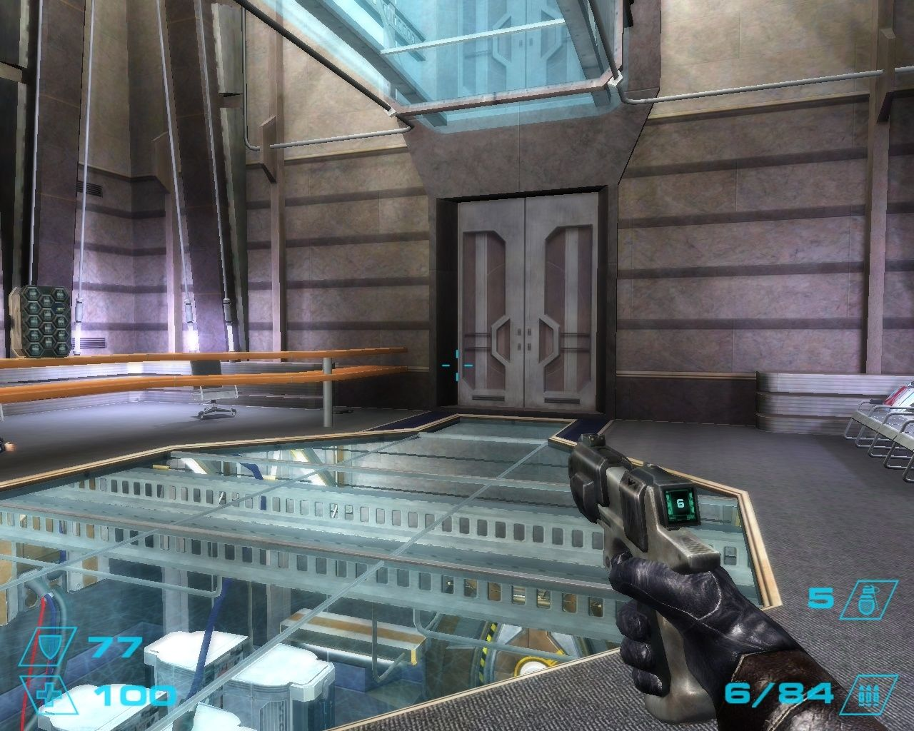 Exodus from the Earth Windows Inside the A. X. Corporation's headquarters on earth, where the first part of the game takes place.