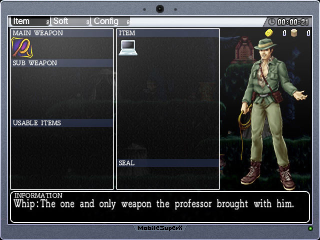 La•Mulana Windows Inventory - remake