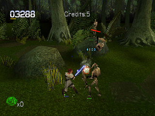 Star Wars: Episode I - Jedi Power Battles PlayStation Defence is quite good attack