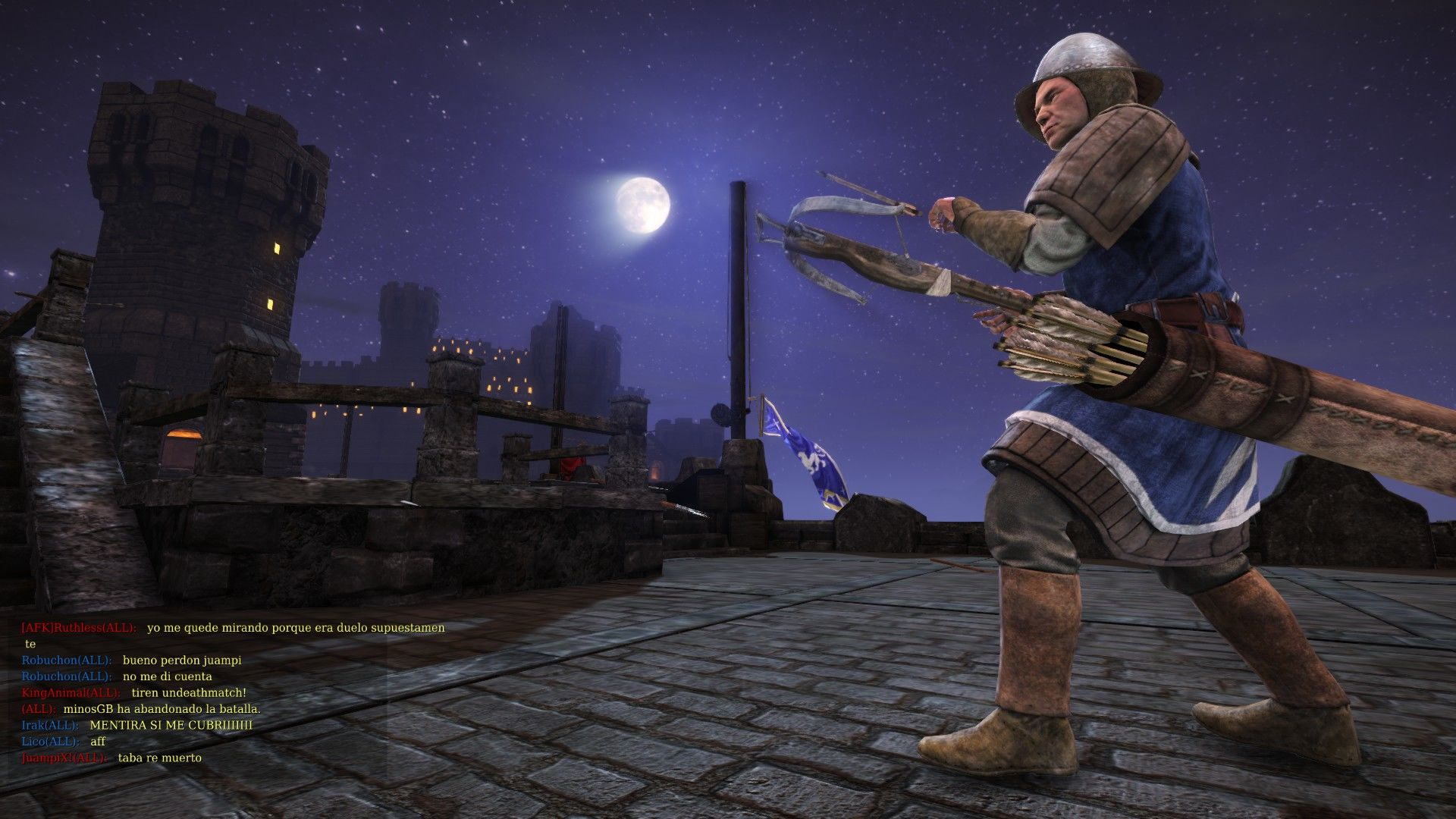 Chivalry: Medieval Warfare Windows Archer in the moon