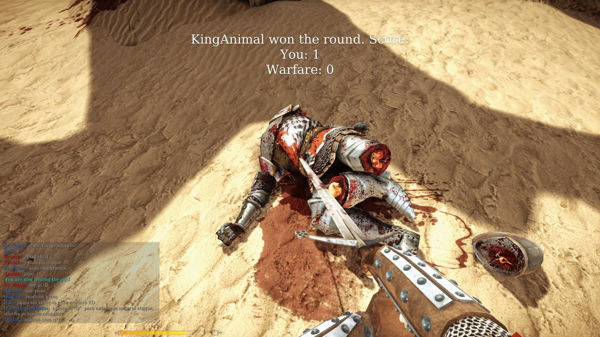 Chivalry: Medieval Warfare Windows Feel the tip of My Sword