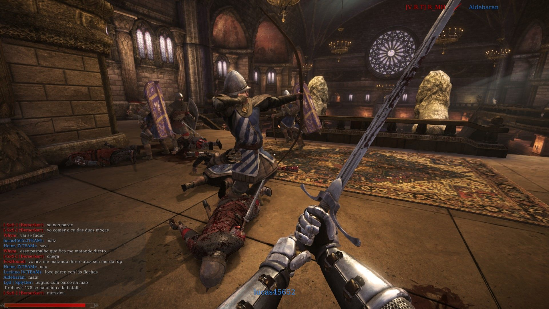 Chivalry: Medieval Warfare Windows Protect the King