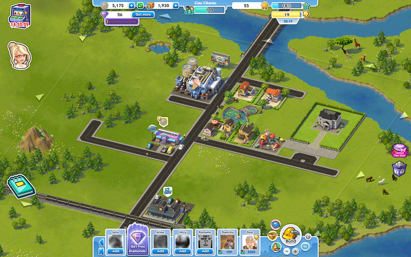 SimCity Social Browser A modest start.