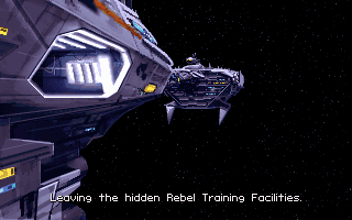 Star Wars: X-Wing DOS Moving between rebels ships