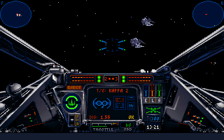 Star Wars: X-Wing DOS I see enemy!