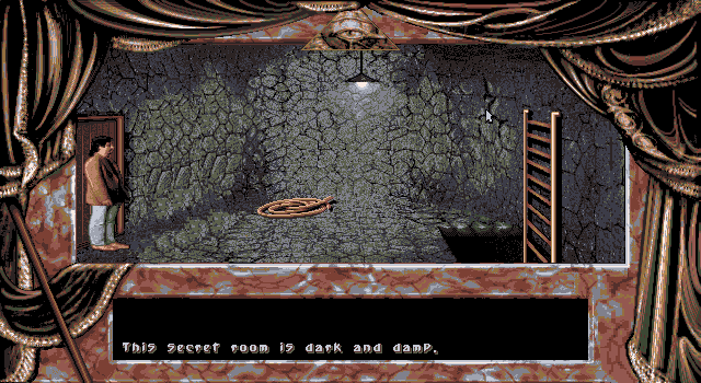 Dark Seed DOS Secret room