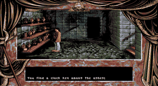 Dark Seed DOS Basement