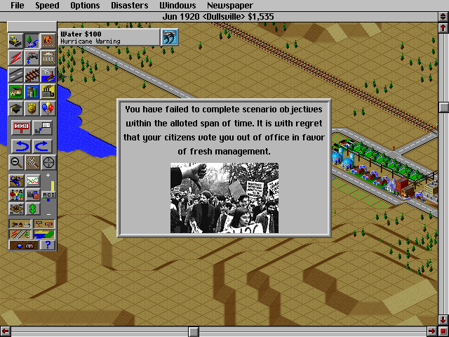 SimCity 2000 DOS Fail :(