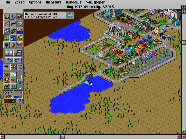 SimCity 2000 DOS Water expansion
