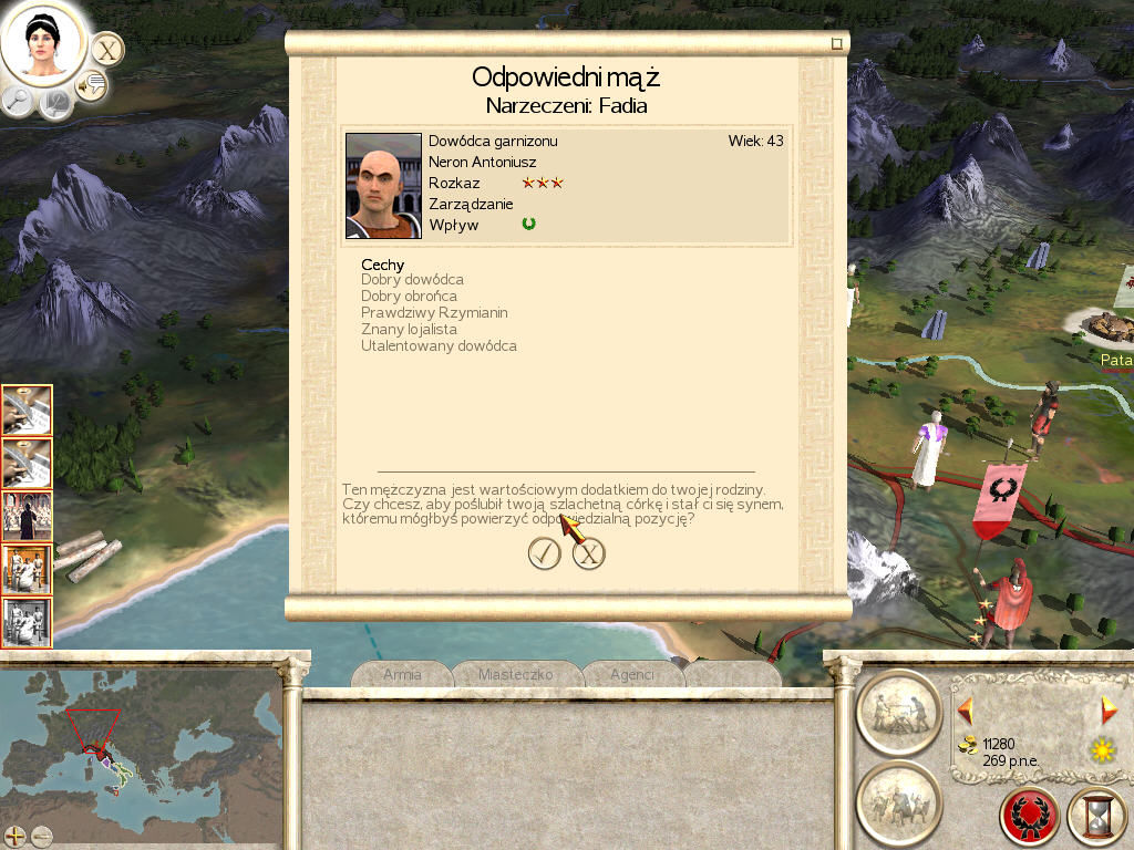 Rome: Total War Windows Marriage pact
