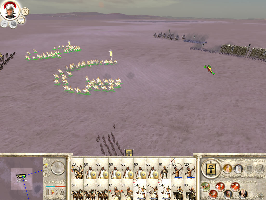 Rome: Total War Windows Calvary archers are good to fast, safe attack