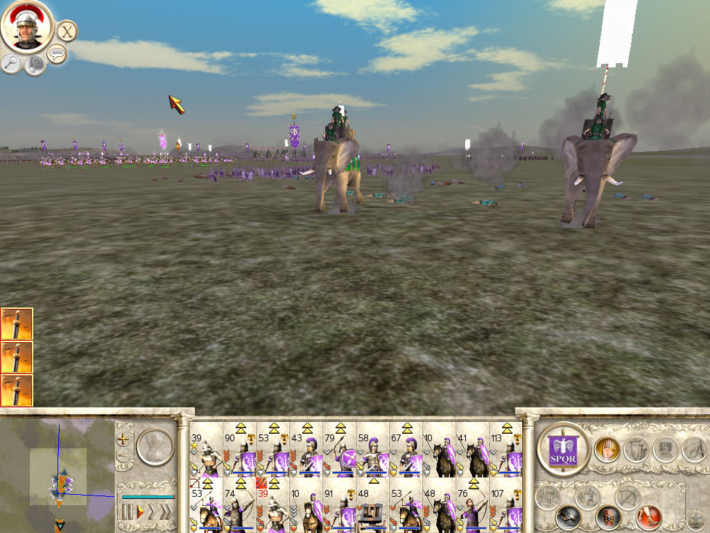 Rome: Total War Windows Battles elephants charge