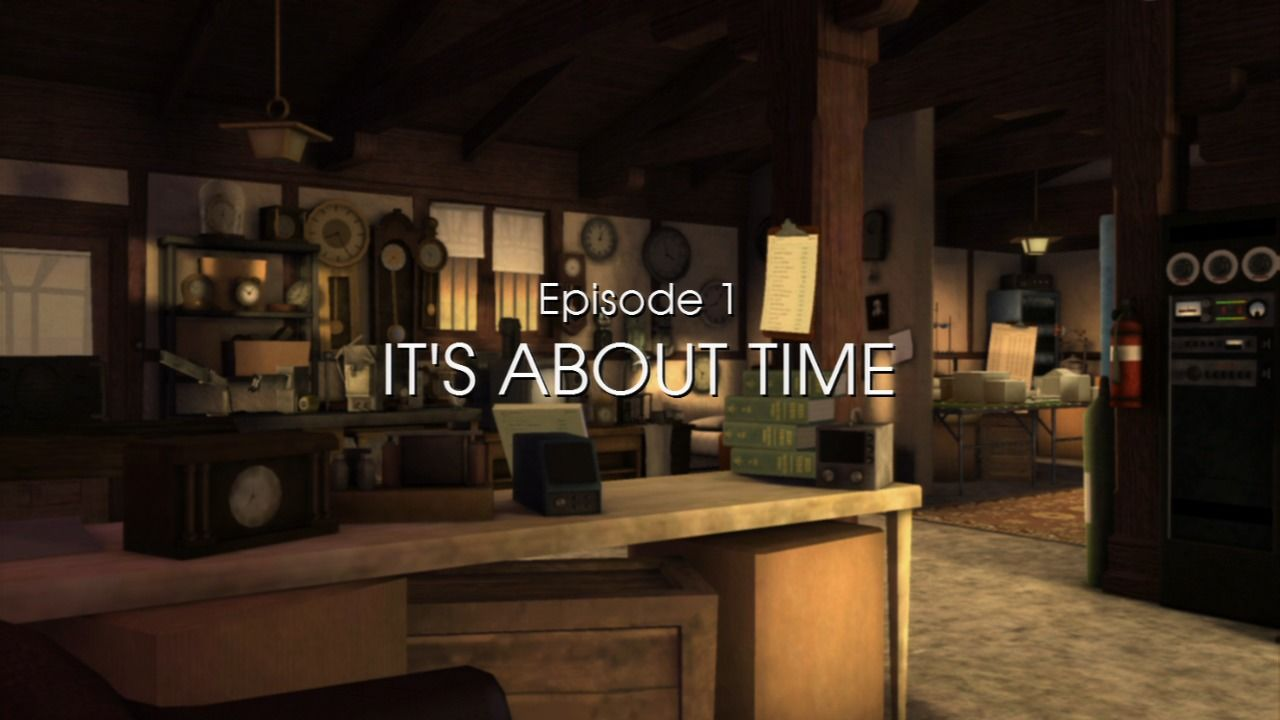 Back to the Future: The Game PlayStation 3 Episode 1 - Episode title.