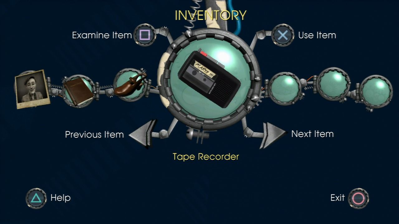 Back to the Future: The Game PlayStation 3 Episode 1 - Inventory.
