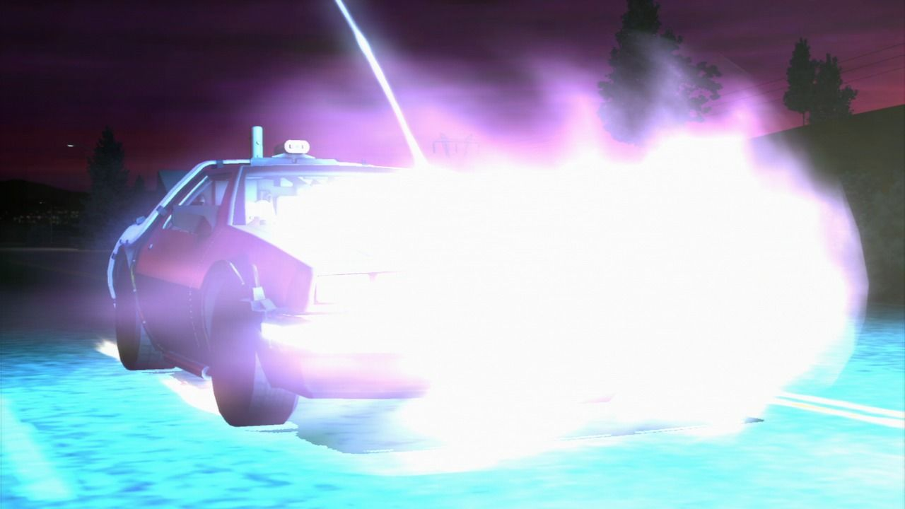 Back to the Future: The Game PlayStation 3 Episode 1 - Going 50 years into the past to save Doc.