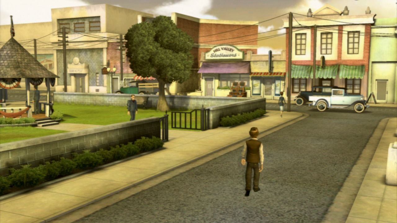 Back to the Future: The Game PlayStation 3 Episode 1 - Welcome to the past.