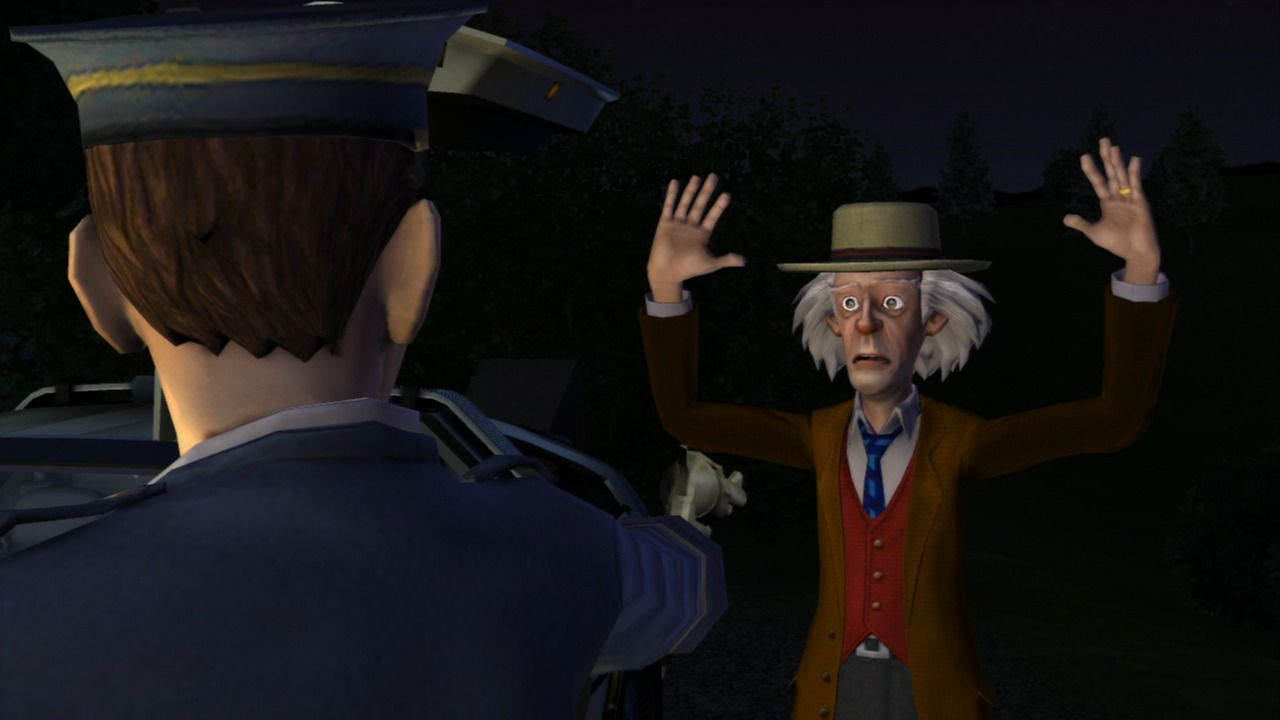 Back to the Future: The Game PlayStation 3 Episode 2 - Busted!