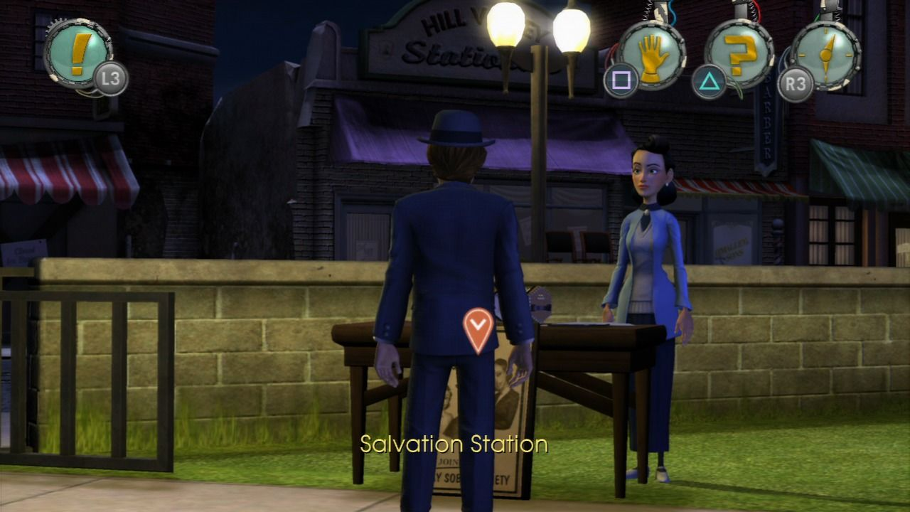 Back to the Future: The Game PlayStation 3 Episode 2 - Younger Edna had a lot of plans.