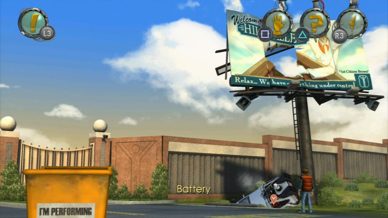 Back to the Future: The Game PlayStation 3 Episode 3 - Salvaging useful stuff from the wreckage.
