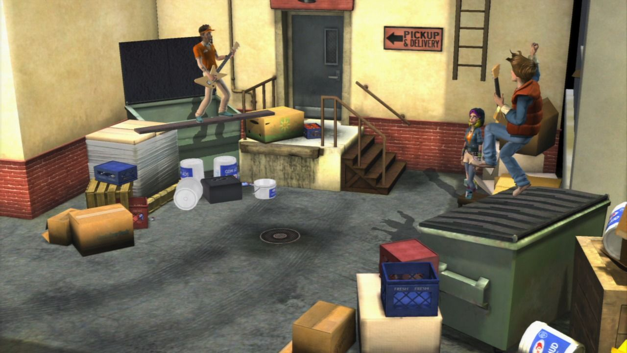 Back to the Future: The Game PlayStation 3 Episode 3 - The guitar duel.