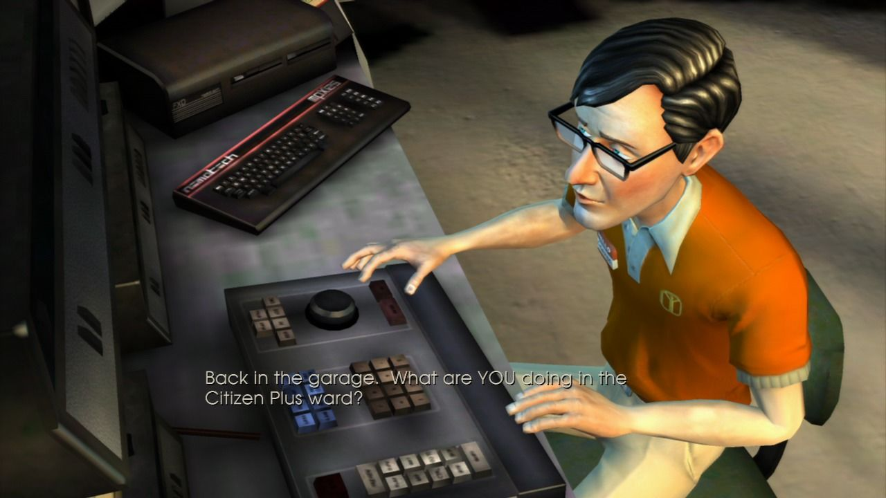 Back to the Future: The Game PlayStation 3 Episode 4 - Some people are trying to help you break out from the prison.