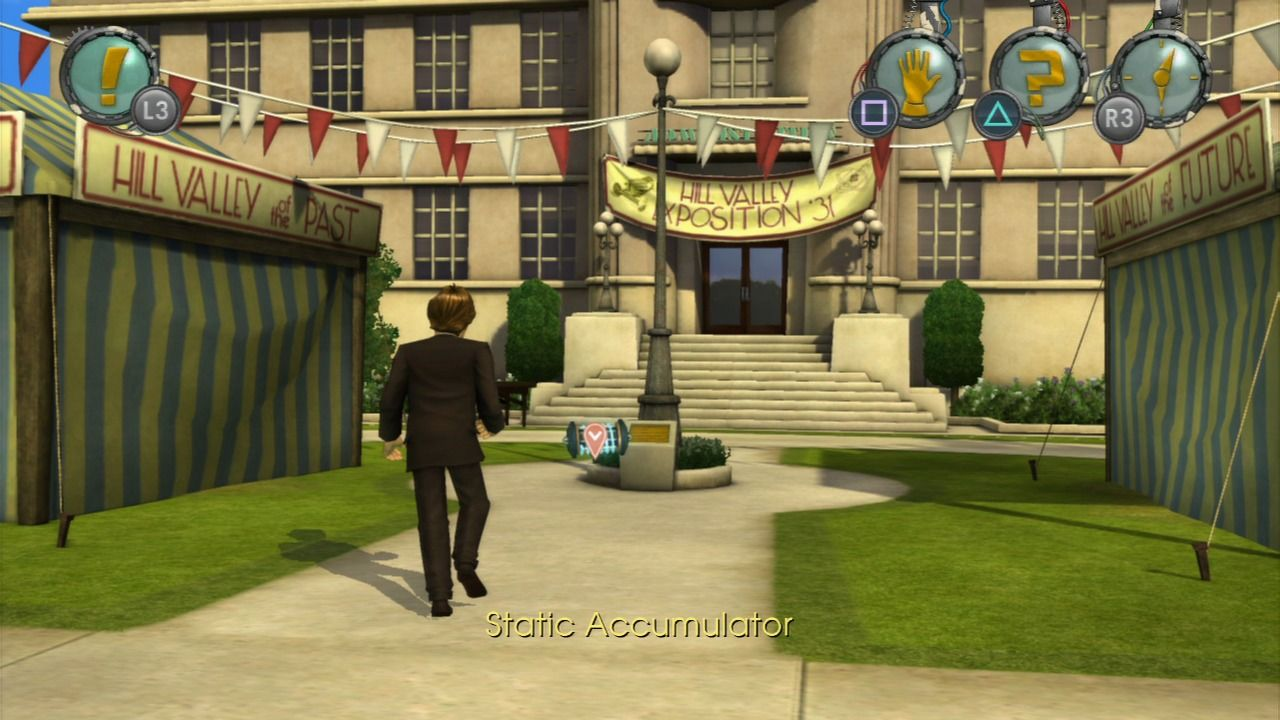 Back to the Future: The Game PlayStation 3 Episode 5 - Chasing the static accumulator.