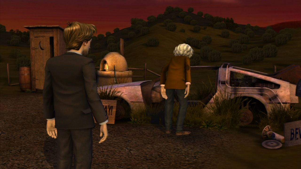 Back to the Future: The Game PlayStation 3 Episode 5 - What happened to this DeLorean?