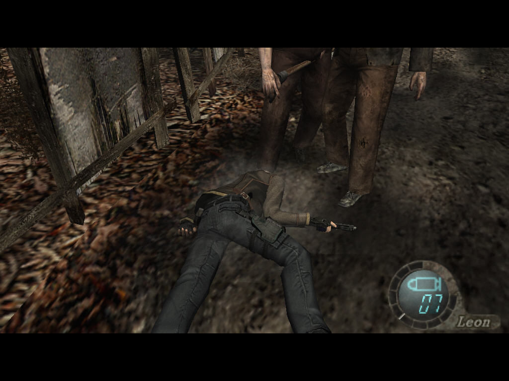Resident Evil 4 Windows Ups, Leon is dead