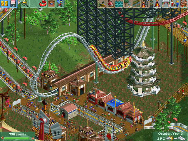 RollerCoaster Tycoon 2: Wacky Worlds Screenshots for Windows - MobyGames