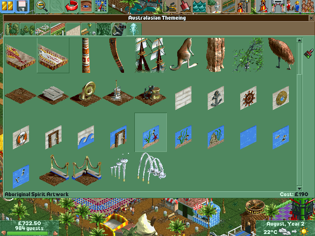 download roller coaster tycoon 2 free full version