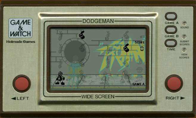 Game & Watch: Dodgeman Browser Away we go.