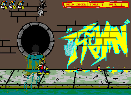 Dodgeman 2 Browser In the co-op game, the second player controls a hand that can grab objects to move harmful items away from the player or move desired items towards the player.