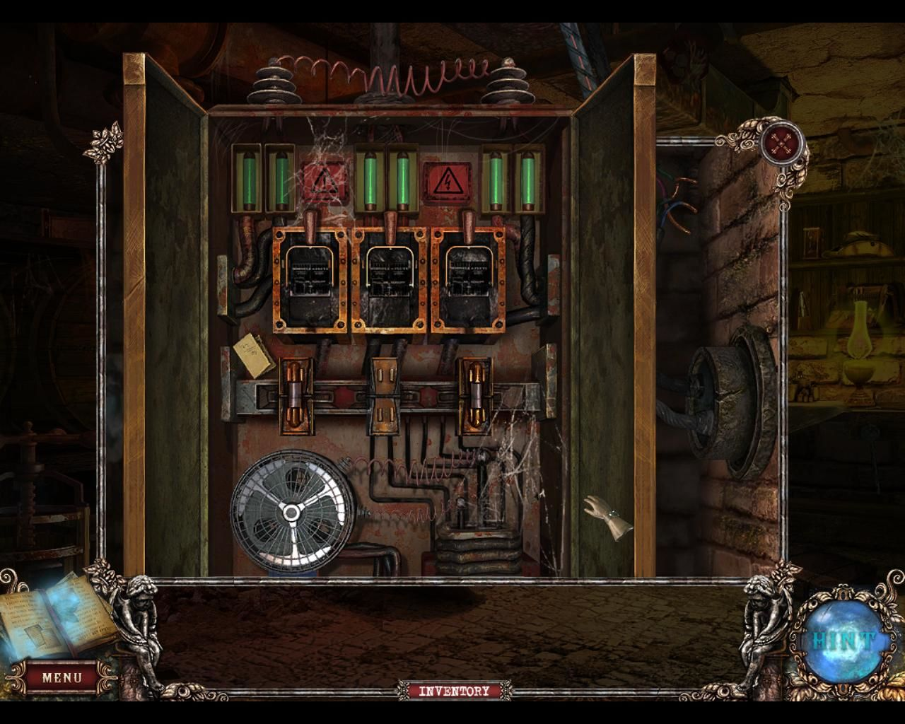 Fear For Sale Mystery Of Mcinroy Manor Screenshots Windows The Game Fuse Box Basement Power