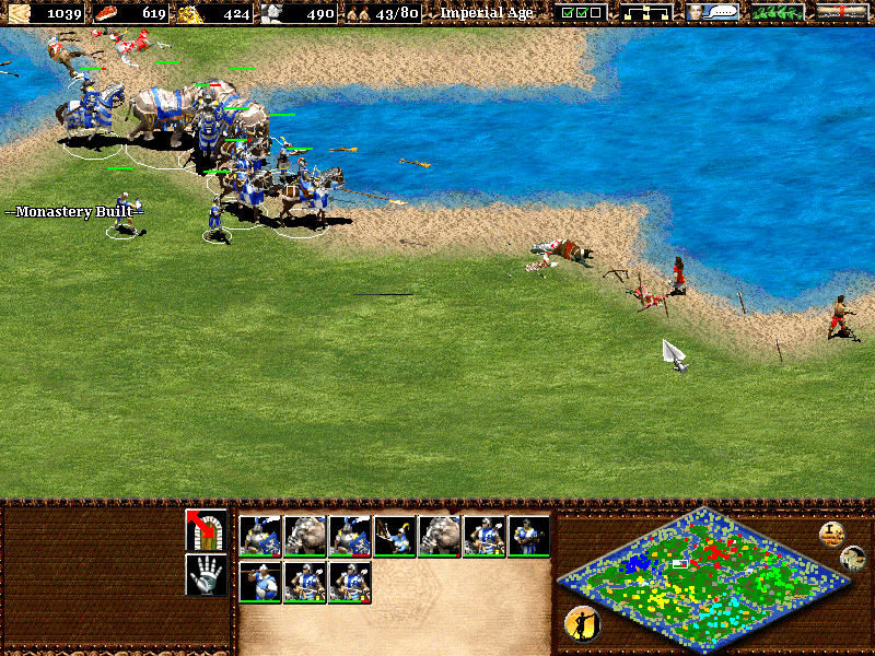 Age of Empires II: The Age of Kings Windows Massacre