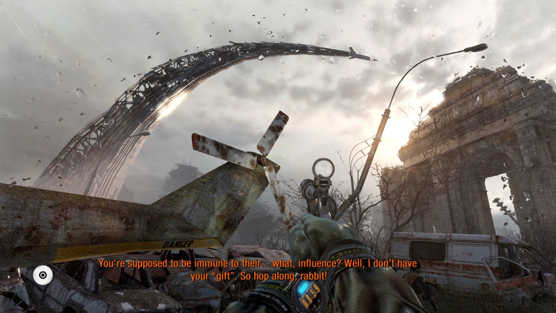Metro: Last Light Windows Outdoor environments are huge and beautiful.