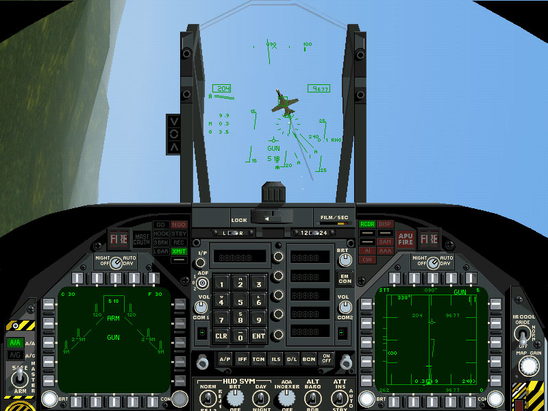 F/A-18 Korea Windows Cockpit