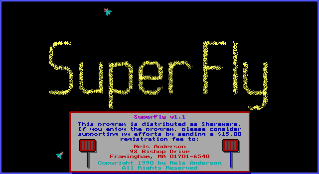 Superfly DOS Main Title